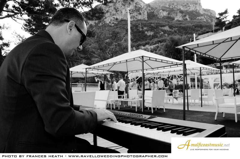 Amalfi coast wedding music